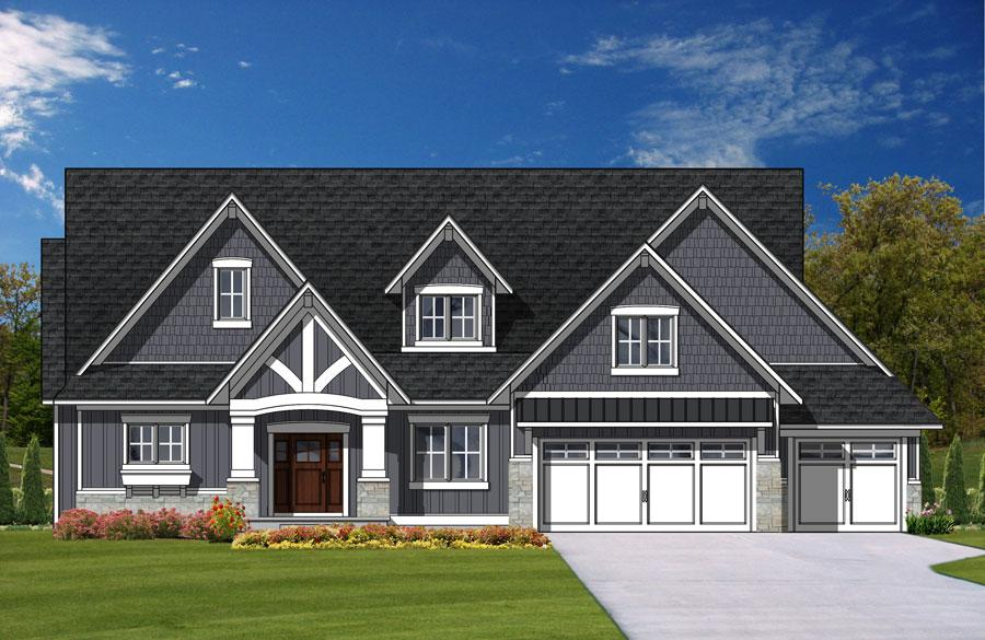 2014 Fall Parade of Homes - Byron Lakes Rendering