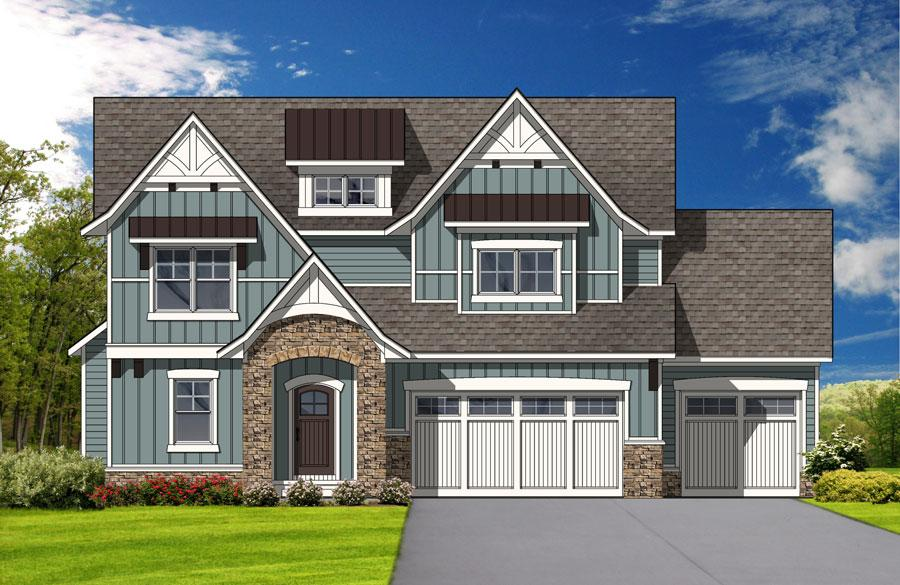 2014 Fall Parade of Homes - Providence Cove Rendering