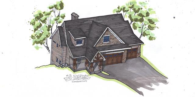 2013 Fall Parade of Homes - River Bluffs Rendering
