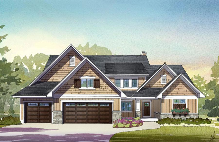 2014 Fall Parade of Homes - Waterleaf Rendering